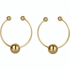 Gold Exotic Nipple Ring Set